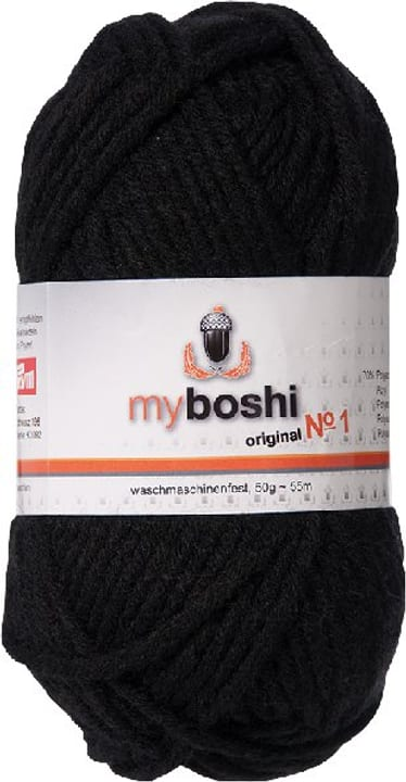 Lana No 1 My Boshi 665305300000 Colore Nero N. figura 1