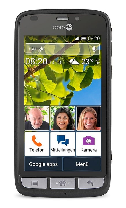 Liberto 820 mini Smartphone noir 785300122941 Photo no. 1