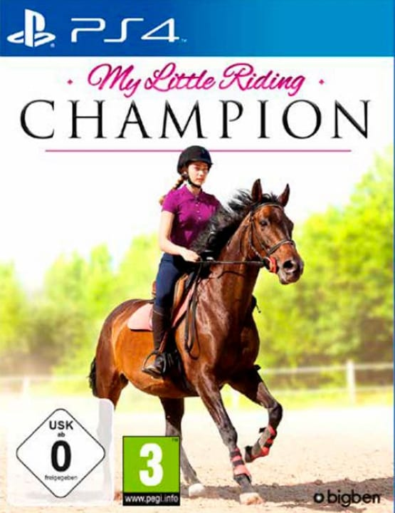 PS4 - My Little Riding Champion (D/F) Box 785300138862 Bild Nr. 1