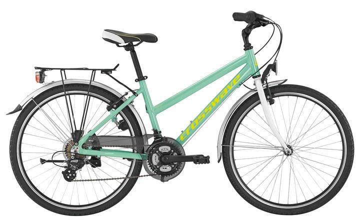 """Miss 1000 26"""" Vélo de ville Crosswave 490184204541 Couleur bleu claire Tailles du cadre 45 Photo no. 1"""