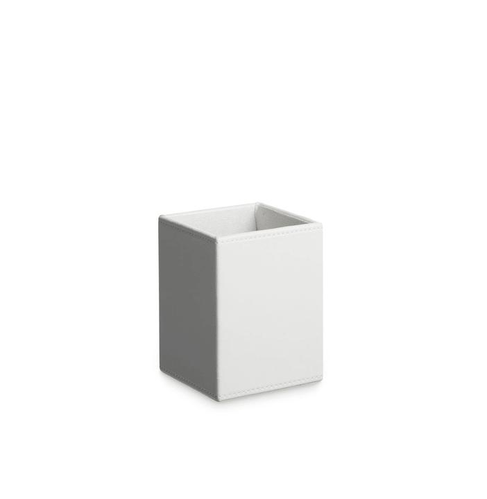 SERPE Stifteköcher 386123100000 Grösse B: 9.0 cm x T: 9.0 cm x H: 12.0 cm Farbe Weiss Bild Nr. 1