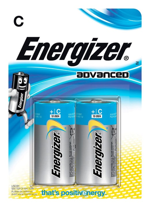 Advanced C/LR14 (2Stk.) Batterie Energizer 704756500000 Bild Nr. 1