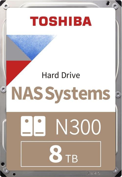 """N300 High-Reliability interne Festplatte 8TB 3.5"""" HDD Intern Toshiba 785300126430 Bild Nr. 1"""