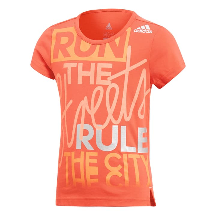 Little Girls Graphic Tee Maillot pour fille Adidas 472337111031 Couleur rouge claire Taille 110 Photo no. 1