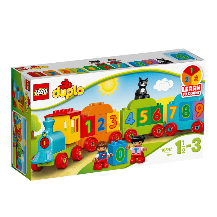 LEGO DUPLO Zahlenzug 10847 748830100000 Bild Nr. 1