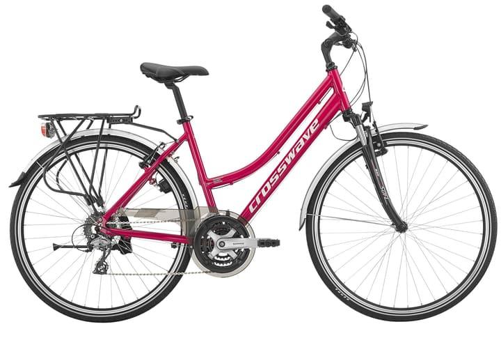 """Cruiser 28"""" pour femme Vélo de trekking Crosswave 464803004317 Tailles du cadre 43 Couleur framboise Photo no. 1"""