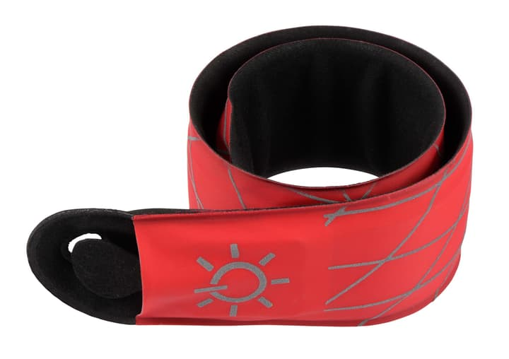 NI SlapLit Jogging Light/rot/Blister Bracelet enrouleur avec éclairage LED Nite Ize 491285800030 Couleur rouge Taille Taille unique Photo no. 1