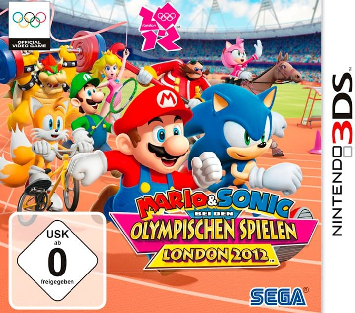 3DS - Mario & Sonic bei den Olympischen Spielen: London 2012 785300121839 Photo no. 1
