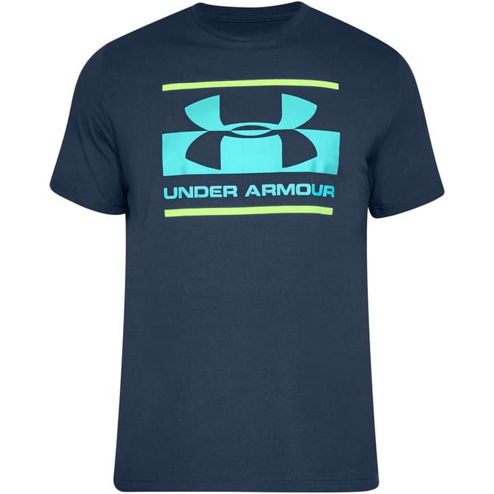 Blocked Sportstyle Mens Shirt pour homme Under Armour 464918700622 Couleur bleu foncé Taille XL Photo no. 1