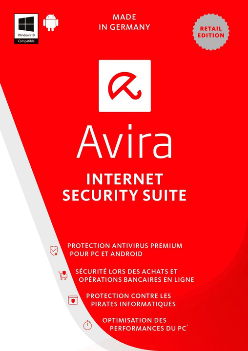 PC / Android - Avira Internet Security Suite 2017 Physisch (Box) Avira 785300121482 Bild Nr. 1