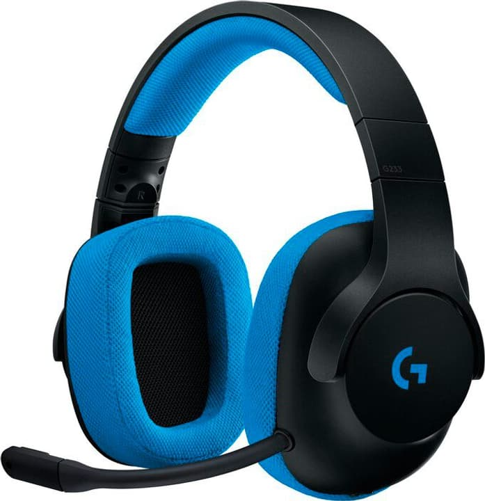 G233 Prodigy Wired Gaming Headset blk/blue Headsets Logitech G 798248100000 Photo no. 1
