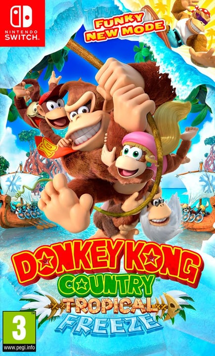 Switch - Donkey Kong Country: Tropical Freeze (I) Box Nintendo 785300132494 N. figura 1
