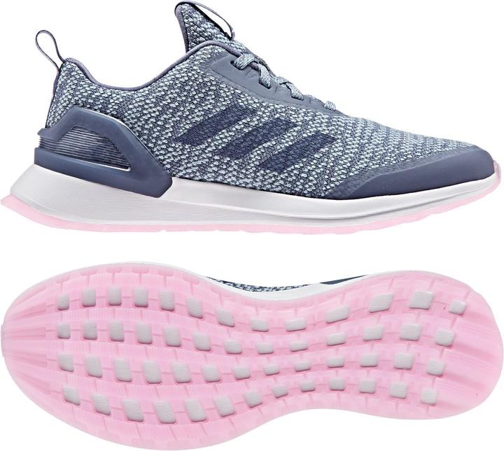 Rapidarun X Knit Kinder-Runningschuh Adidas 460680836040 Farbe blau Grösse 36 Bild-Nr. 1