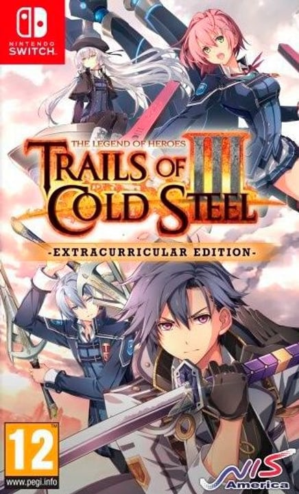 NSW - The Legend of Heroes: Trails of Cold Steel 3 - Extracurricular Edition D Box 785300150288 Photo no. 1