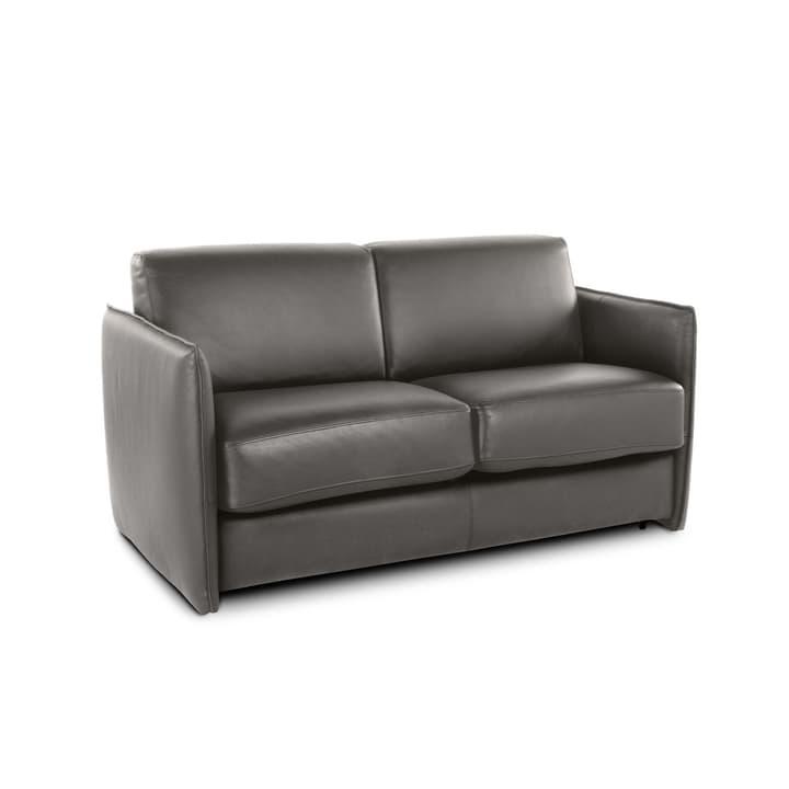 NAIMO canapé-lit à 2.5 places 360096400000 Dimensions L: 140.0 cm x P: 188.0 cm Couleur Gris foncé Photo no. 1