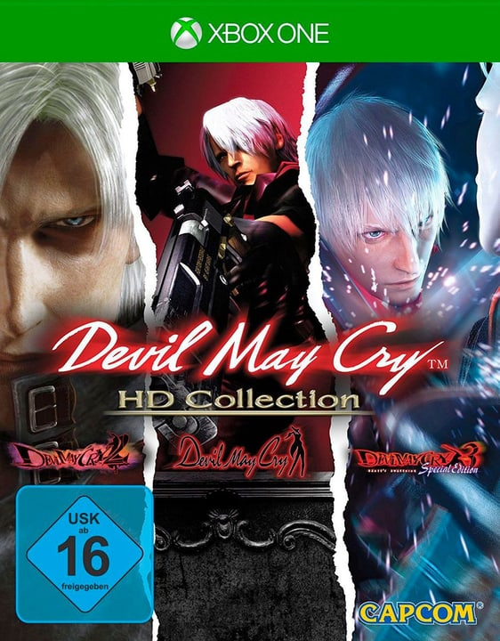 Xbox One - Devil May Cry - HD Collection (D/F/I) Physisch (Box) 785300132160 Bild Nr. 1