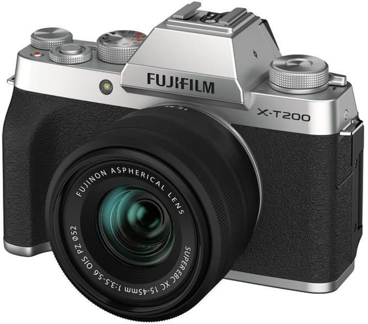 X-T200 Silver Kit XC 15-45mm Set appareil photo rhybrid FUJIFILM 785300150844 Photo no. 1