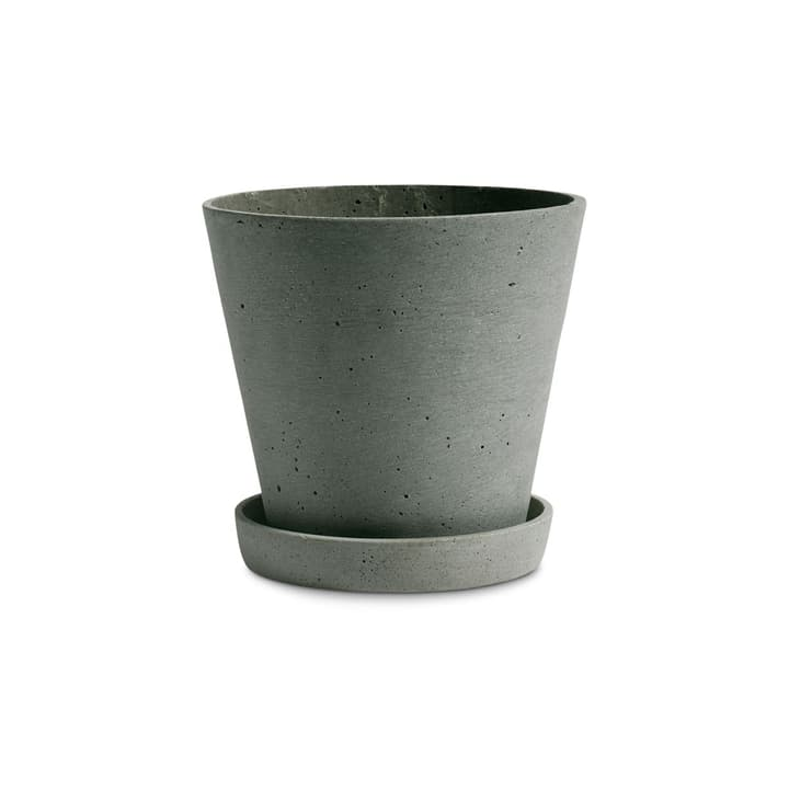FLOWER POT / L Cache-pot HAY 382075700000 Dimensions H: 16.5 cm Couleur Vert Photo no. 1