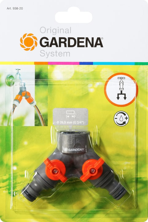 Original GARDENA System Clapet Gardena 630410000000 N. figura 1
