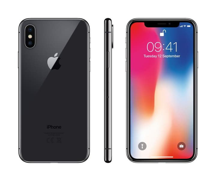 iPhone X 256GB Space grey Apple 794625200000
