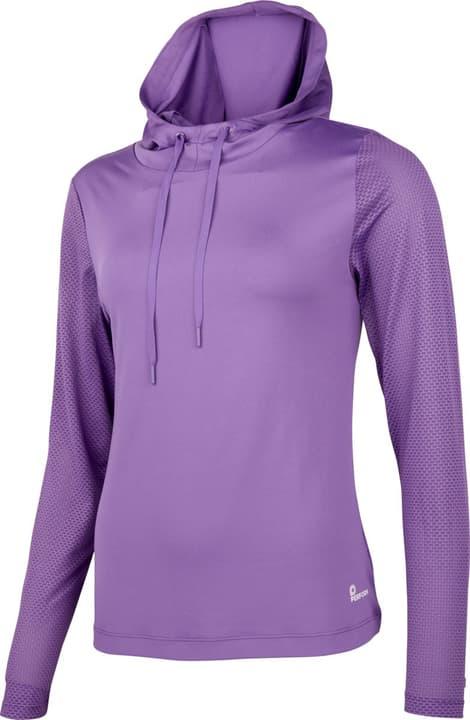 Fitness-Longsleeve Damen-Hoody Perform 464941803891 Farbe lila Grösse 38 Bild-Nr. 1