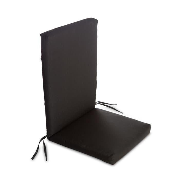 MILOU Coussin d'assise 378039000000 Couleur Noir Dimensions L: 50.0 cm x P: 118.0 cm x H: 7.0 cm Photo no. 1