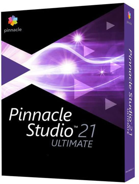 PC - Pinnacle Studio 21 Ultimate - versione completa Fisico (Box) Corel 785300131459 N. figura 1