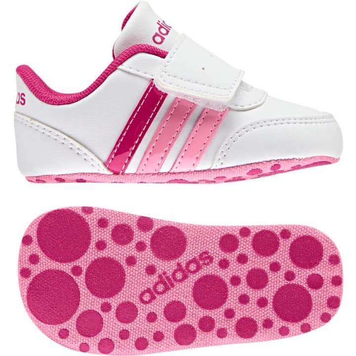 V Jog Crib Kinder-Freizeitschuh Adidas 460653817010 Farbe weiss Grösse 17 Bild-Nr. 1