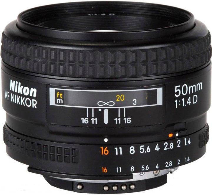 Nikkor AF D 50/1,4 Obiettivo Nikon 793430100000 N. figura 1