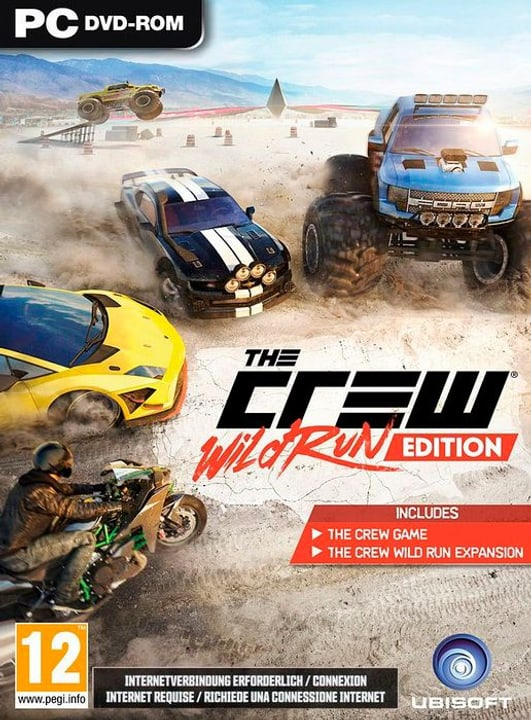PC -  The Crew Wild Run Physique (Box) 785300121892 Langue Allemand Plate-forme PC Photo no. 1