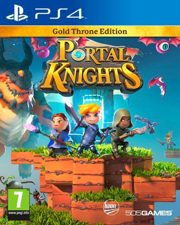 PS4 - Portal Knights - Gold Pack Edition Physisch (Box) 785300122126 Bild Nr. 1