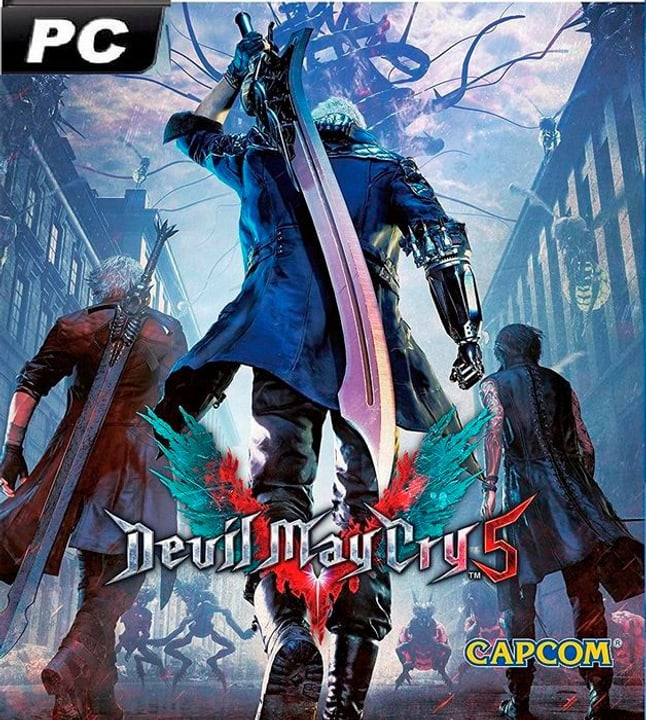 PC - Devil May Cry 5 Box 785300138140 Bild Nr. 1