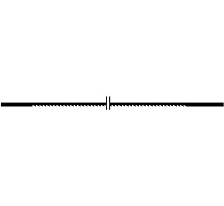 Lama di sega supercut fine 41Z/25mm Wolfcraft 616860600000 N. figura 1