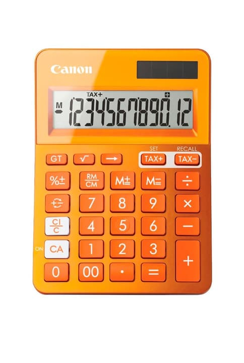 LS-123K orange Calculatrice Canon 785300126458 Photo no. 1