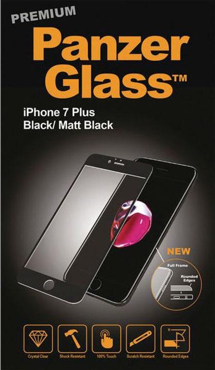 Premium iPhone 7 Plus - nero Smartphone Zubehör Panzerglass 785300134509 N. figura 1