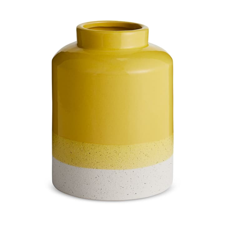 BEN Vase 396097000000 Dimensions L: 11.5 cm x P: 11.5 cm x H: 15.0 cm Couleur Jaune Photo no. 1