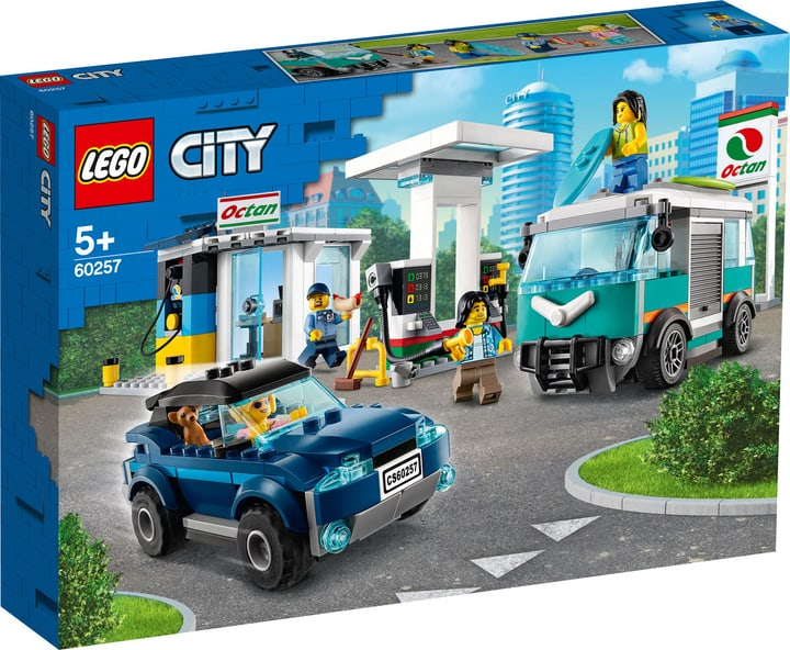 LEGO CITY 60257 La station-servic 748737900000 Photo no. 1