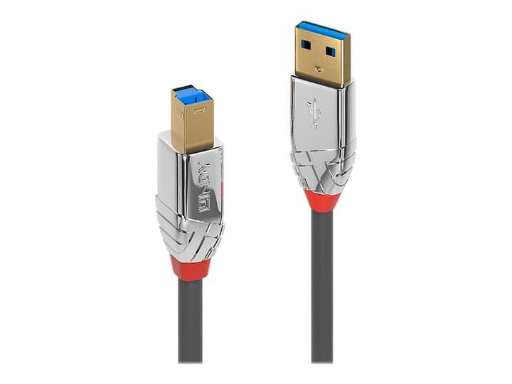 USB 3.0 Typ A an B Cavo, Cromo Line 0.5m Cavo LINDY 785300141550 N. figura 1