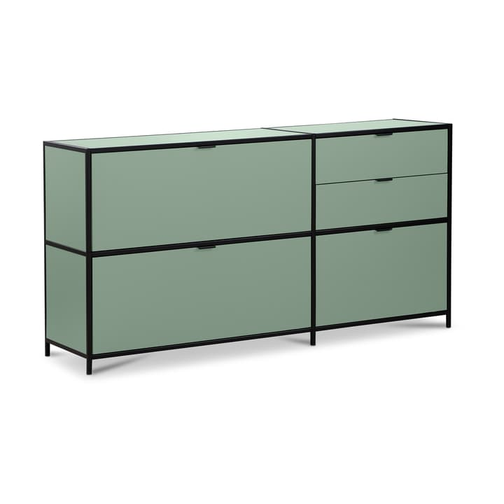 SEVEN commode Edition Interio 362217800000 Dimensions L: 155.0 cm x P: 38.0 cm x H: 80.0 cm Couleur Vert Photo no. 1