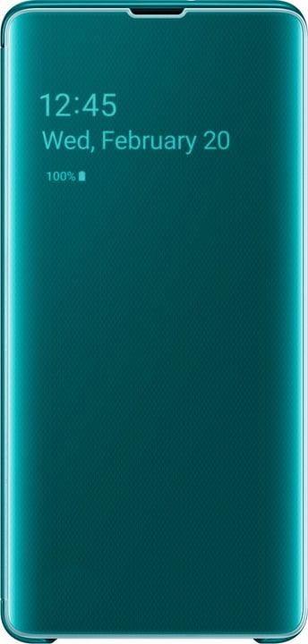 Clear view Cover Green Custodia Samsung 785300142494 N. figura 1