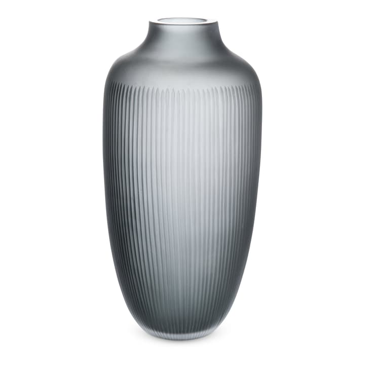 VANESSA Vase 396117800000 Grösse B: 18.5 cm x T: 18.5 cm x H: 36.5 cm Farbe Grau Bild Nr. 1