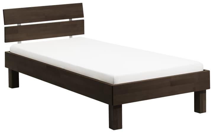 WOODLINE Bett HASENA 403227500000 Farbe Buche schoko Grösse B: 100.0 cm x T: 200.0 cm Bild Nr. 1