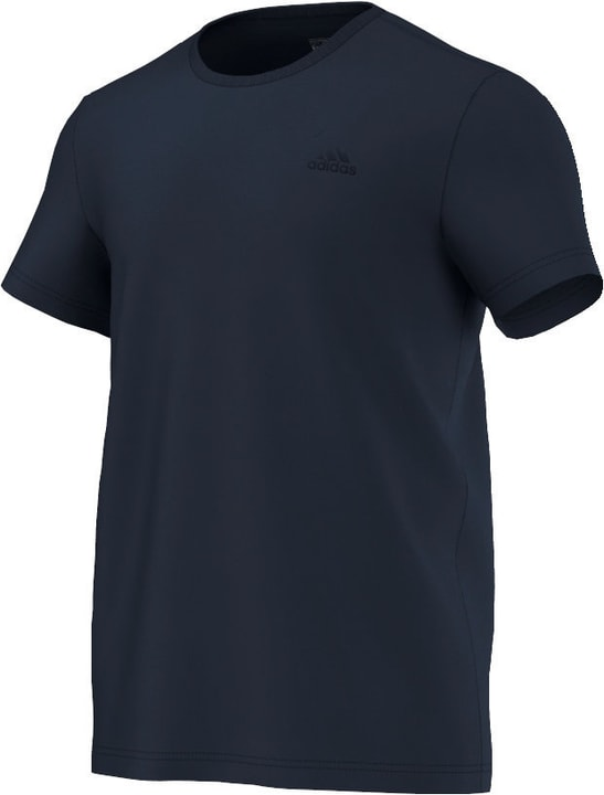 Essential Tee T-shirt da uomo Adidas 460187300343 Colore blu marino Taglie S N. figura 1