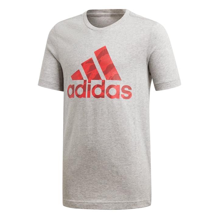 BOS Shirt pour garçon Adidas 464565614081 Couleur gris claire Taille 140 Photo no. 1