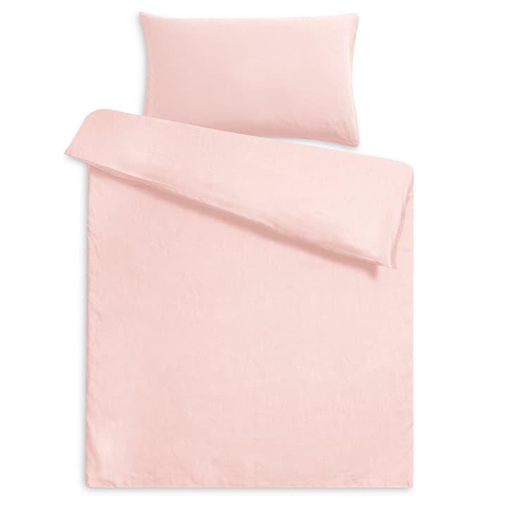 LINEN Federa per cuscino lino 376073310629 Dimensioni L: 65.0 cm x L: 65.0 cm Colore Albicocca chiaro N. figura 1