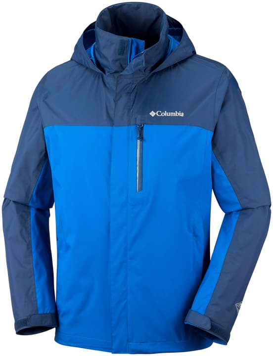 Puration Dual Jacket Veste pour homme Columbia 462737900342 Couleur bleu azur Taille S Photo no. 1