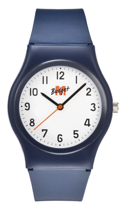 montre bleu / blanc Montre M-Budget 760525600040 Photo no. 1