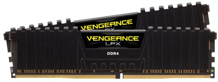 Vengeance LPX Black DDR4-RAM 3200 MHz 2x 32 GB Mémoire Corsair 785300150098 Photo no. 1