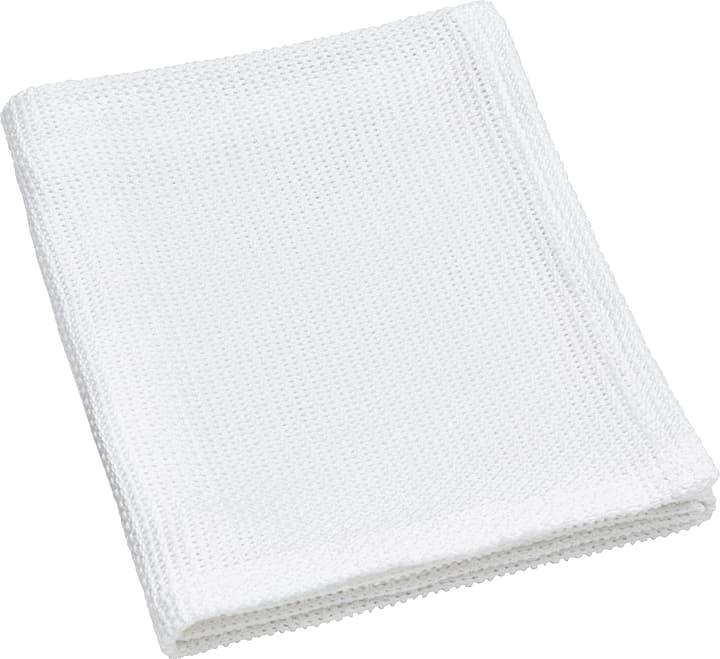 AURA Coperta 451647743010 Colore Bianco Dimensioni L: 90.0 cm x A: 100.0 cm N. figura 1