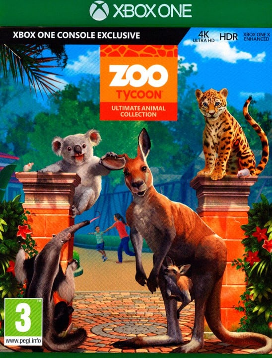 Xbox One - Zoo Tycoon Ultimate Animal Collection Box 785300129857 Photo no. 1